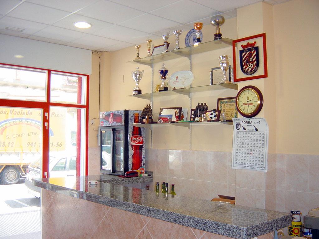 Interior de la sede social del CD Villegas.