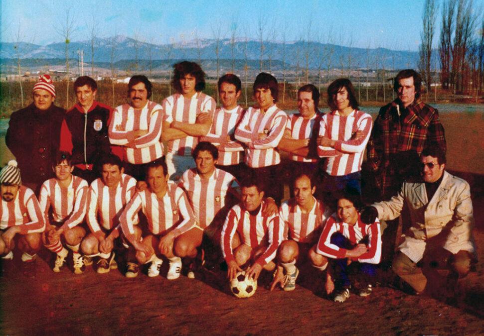 1974-75. Directiva Del CD Villegas.