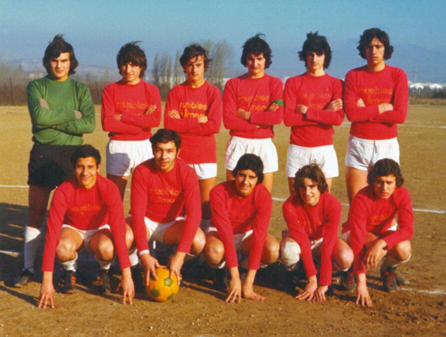 1974-75. Juvenil Del CD Villegas.