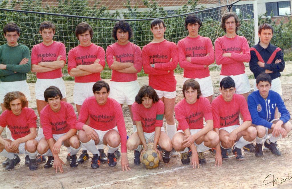 1976-77. Equipo Del CD Villegas.