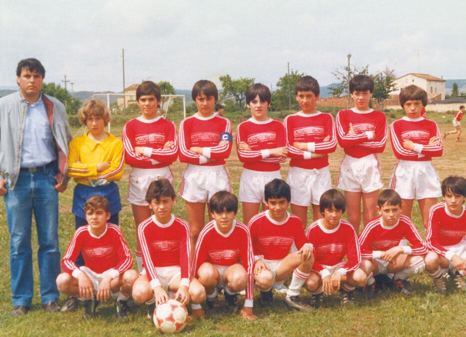 1983-84. Alevín Del CD Villegas.