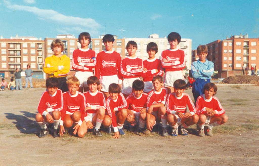 1984-85. Alevín Del CD Villegas.