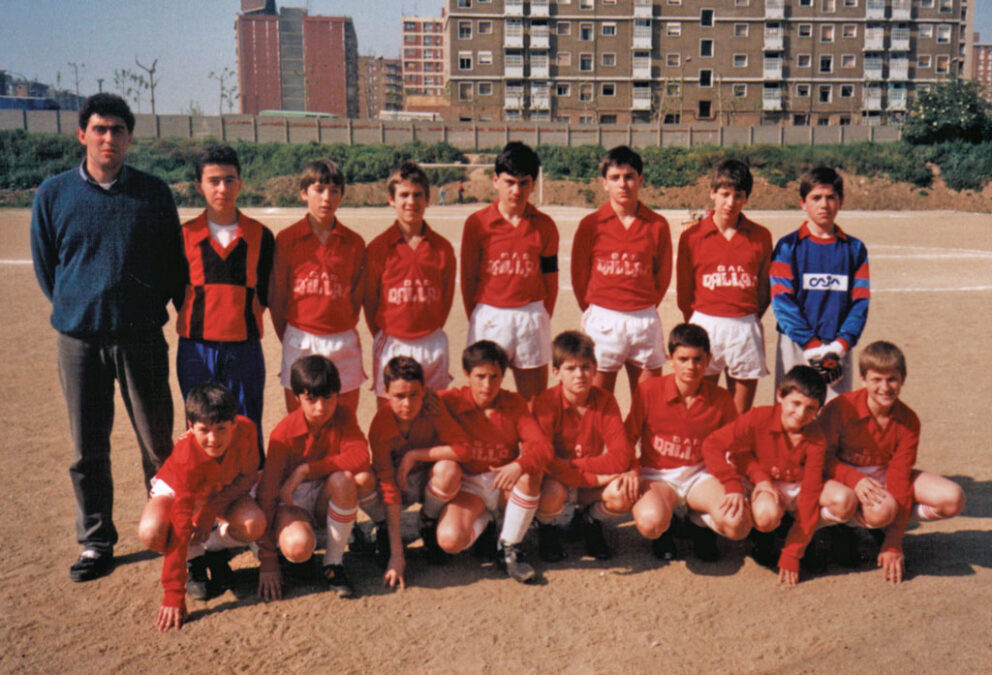 1986-87. Alevín A Del CD Villegas. Torneo Condal, Barcelona.