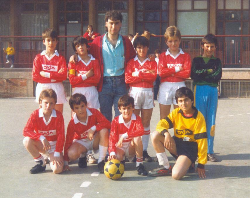 1987-88. Alevín Del CD Villegas.