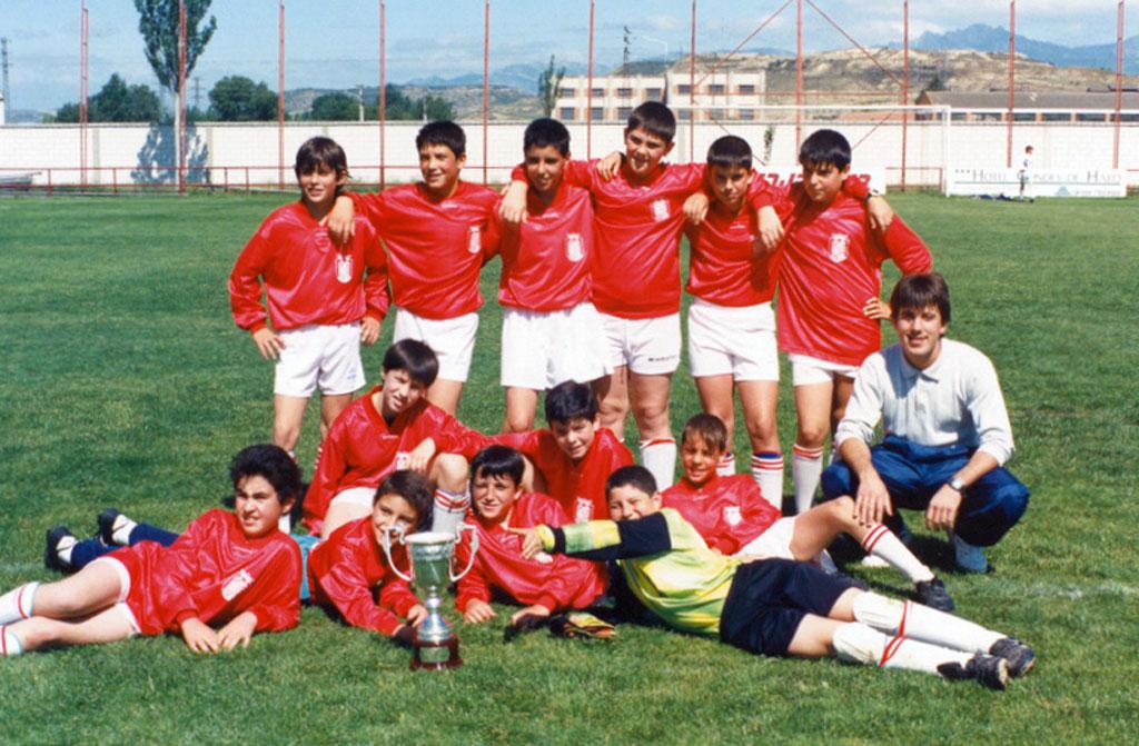 1993-94. Alevín Del CD Villegas.