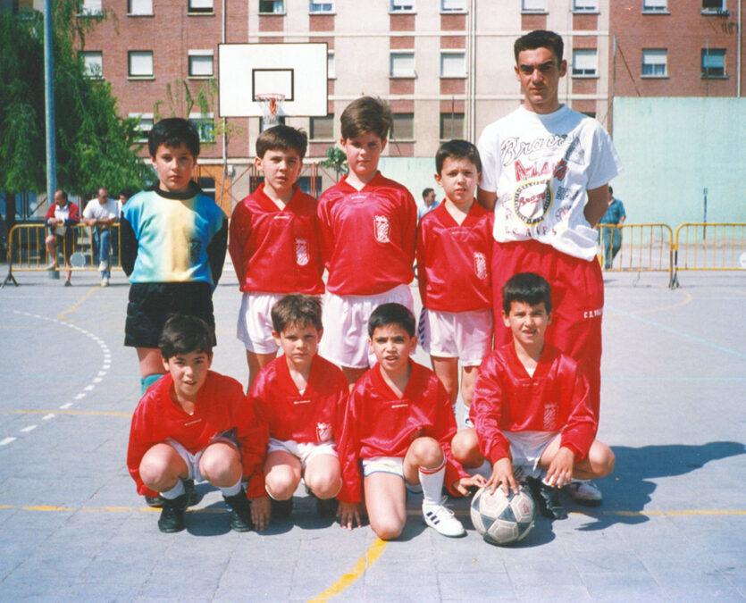 1994-95. Benjamín Del CD Villegas.