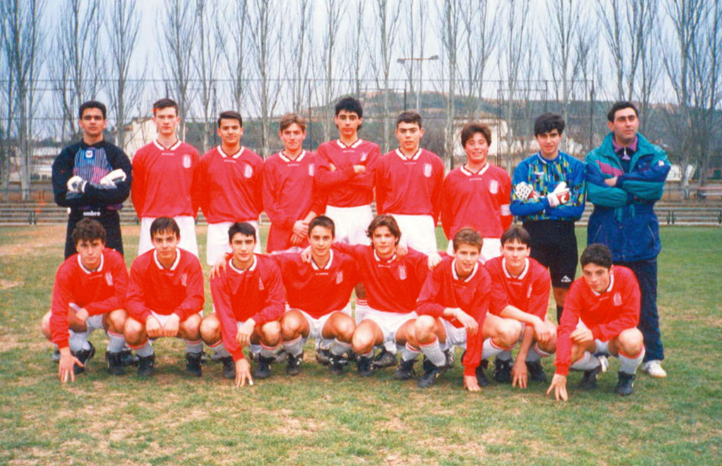 1994-95 Juvenil A Del CD Villegas.