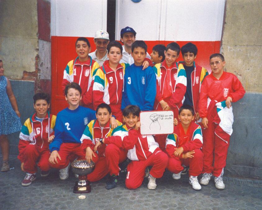 1995-96. Alevín Del CD Villegas.