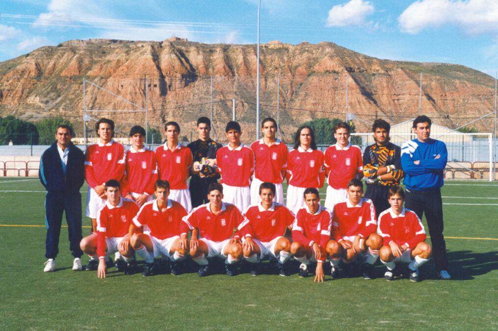 1996-97. Equipo Del CD Villegas.