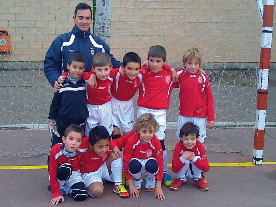 2011-12. Benjamín 2004 Del CD Villegas.