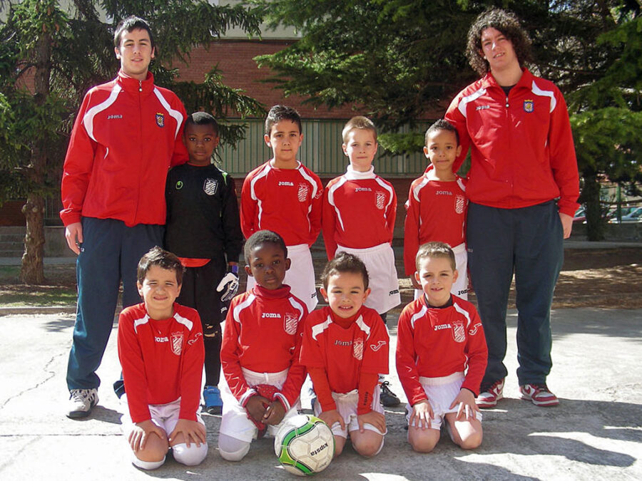 2011-12. Benjamín 2005 A Del CD Villegas.