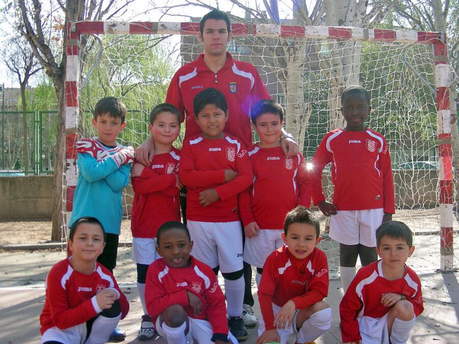 2011-12. Benjamín 2005 Athletic Del CD Villegas.
