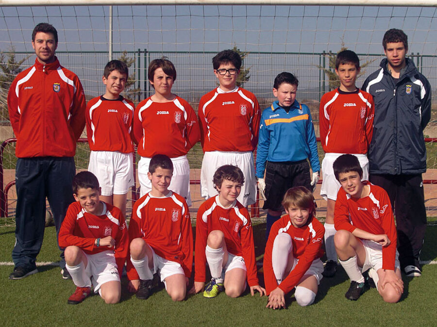 2011-12. Alevín 2000 B Del CD Villegas.
