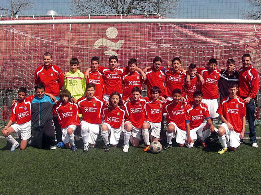 2011-12. Cadete B Del CD Villegas.