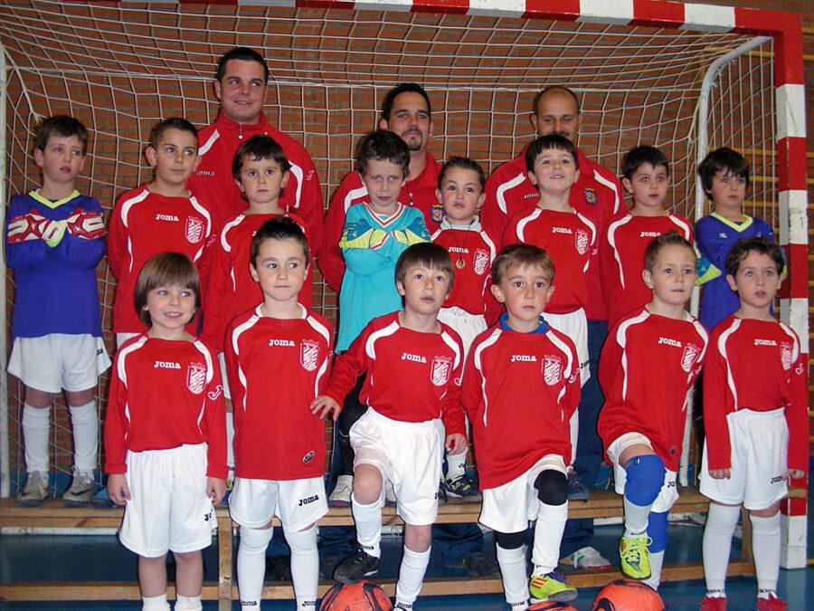 2011-12. Escuela De Fútbol 2006 Del CD Villegas.