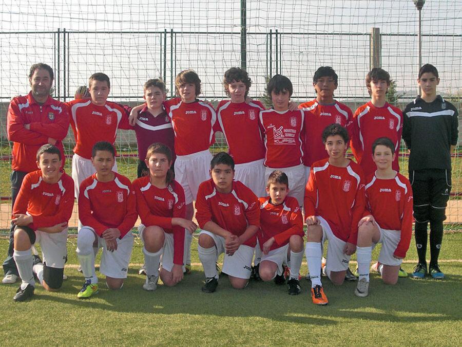 2011-12. Infantil 98 Del CD Villegas.