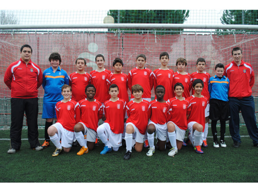 2012-13. Infantil B Del CD Villegas.