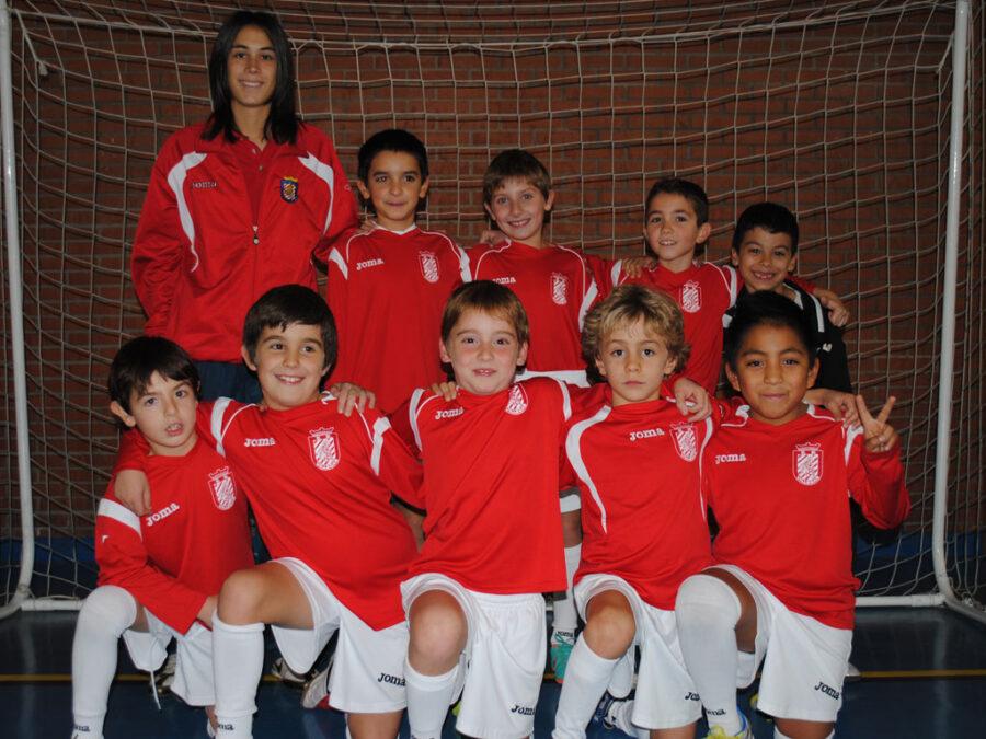 2012-13. Benjamín 2004 Athletic Del CD Villegas.