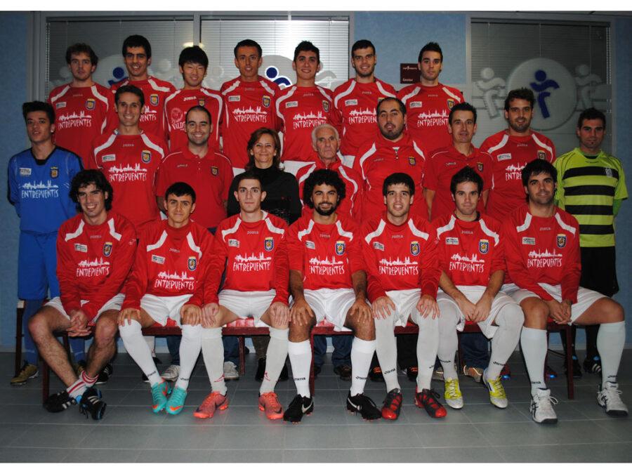 2012-13. Equipo De Tercera División Del CD Villegas.