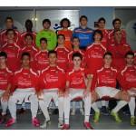 2012-13. Juvenil Nacional del CD Villegas.