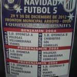 Torneo Oyon 2012 cartel