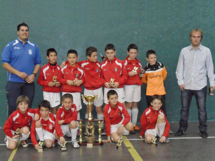 2012. Benjamín 2002 Del Villegas Campeón Del Torneo Villegas.