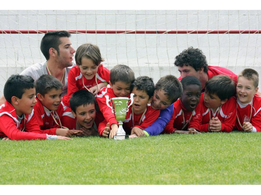 Torneo De Santo Domingo. Prebenjamín 2005 Del CD Villegas.