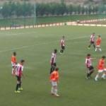 El Cadete de Segunda ha vencido hoy a la SD Logroñes por 0-2