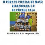 Cartel Ribafrecha 2014