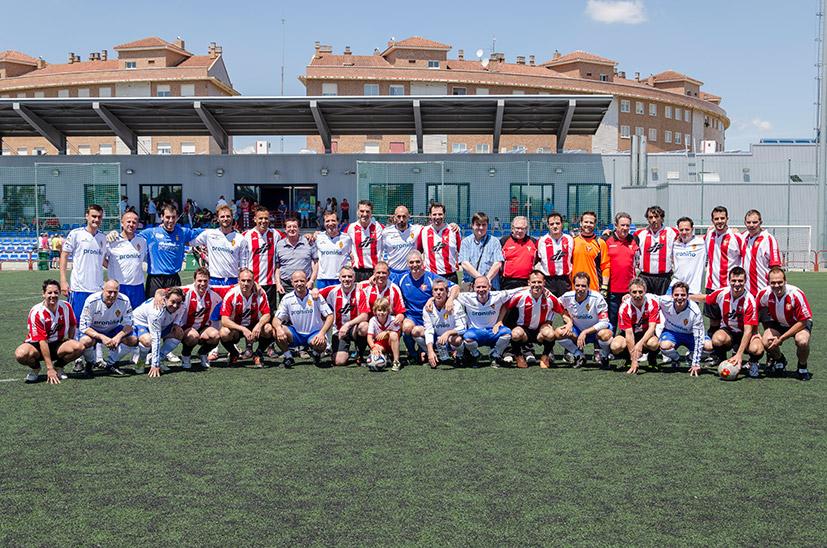 Veteranos Del Real Zaragoza Y El CD Logroñés