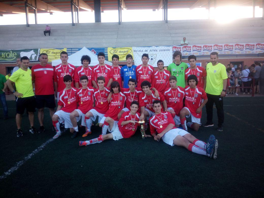 Juvenil subcampeon Torneo EDF 2015