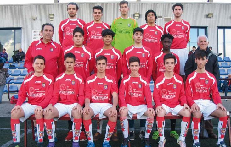 Equipo Juvenil Nacional de la temporada 2016-17