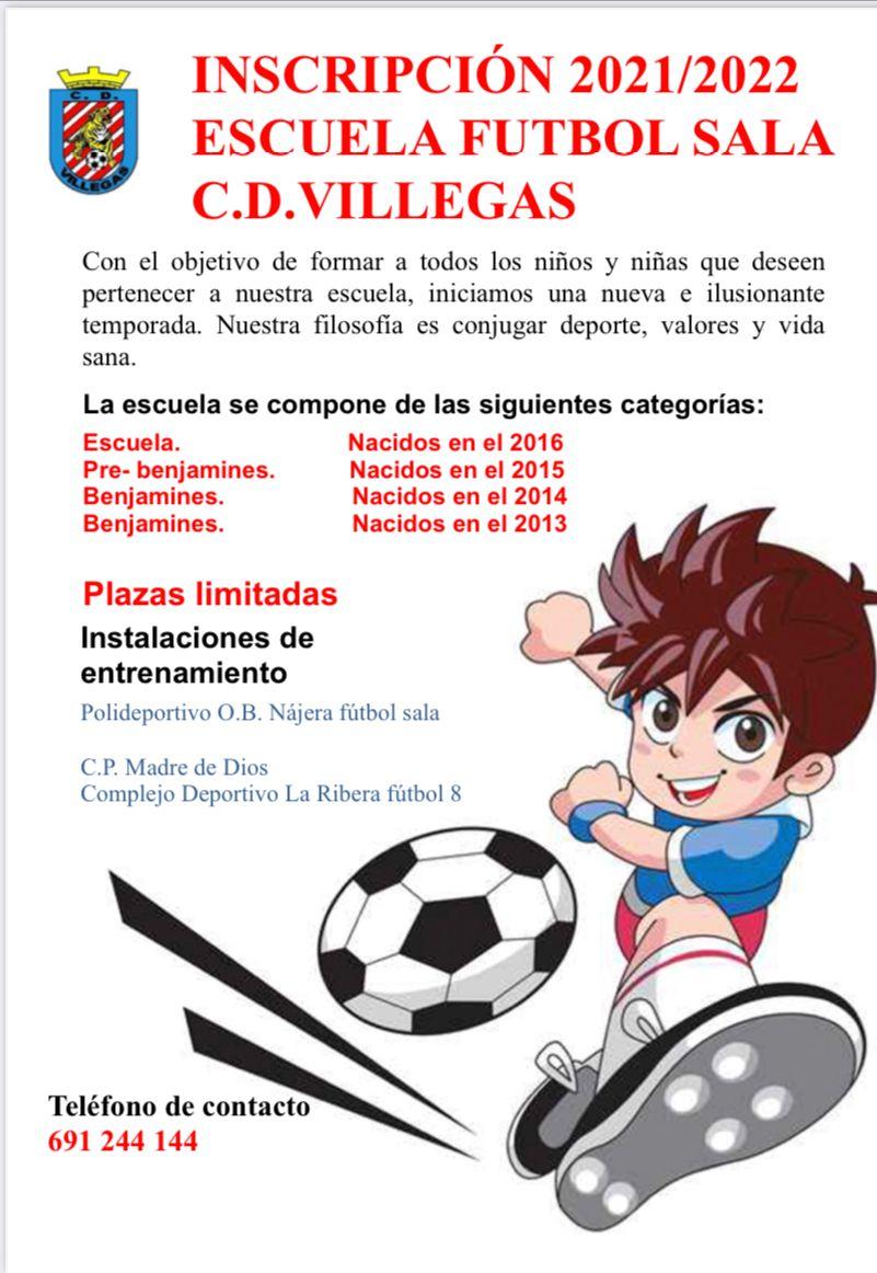 Si Quieres Que Tus Hijos Disfruten Con El Fútbol …Apúntalos Al Villegas!!
