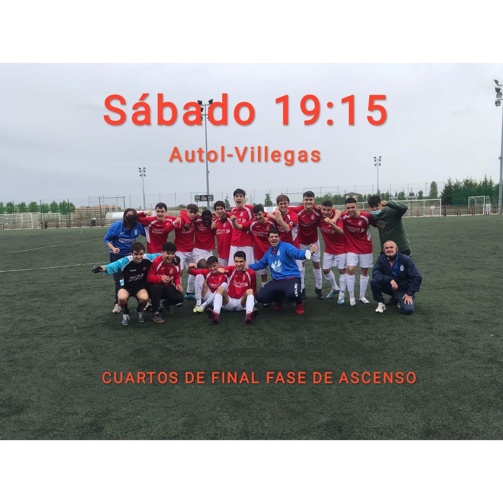 Eliminatoria De Cuartos De Final Para El Ascenso Del Juvenil Territorial